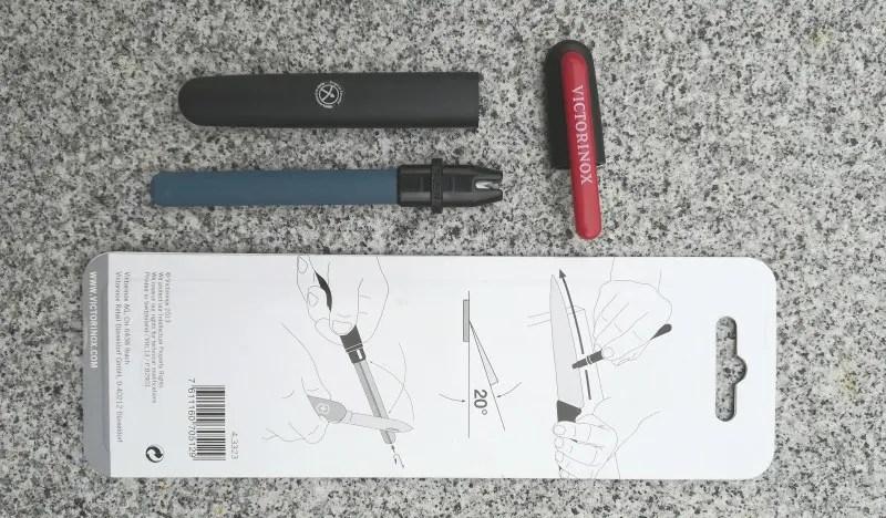 Messerschärfer - Victorinox Dual Schleifstab
