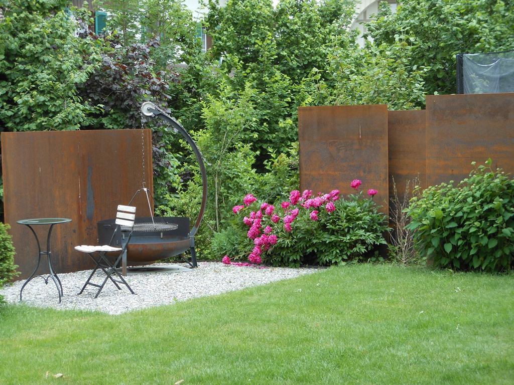 sichtschutz stahl - boisholz, Garten ideen gestaltung