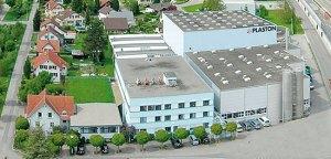 Der Plaston-Hauptsitz in Widnau. Quelle: www.plaston.ch