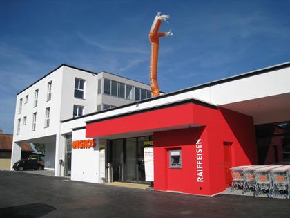 Wohn und Geschäftshaus, Staatsstrasse 50, 9463 Oberriet SG. Bild: www.rivag.ch