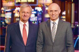 Guido Egli, VRP, und Wolfgang Bliem, CEO der Casino Luzern-Gruppe. Bild: Geschäftsbericht 2014