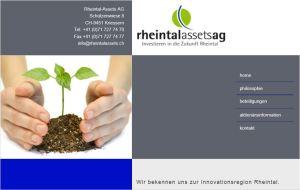 Der Name Rheintal-Assets gehört bald der Vergangenheit an.