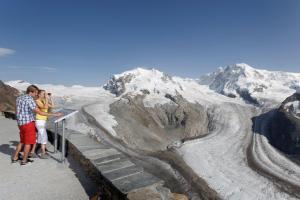 Die Aussicht vom Gornergrat hat zahlreiche Touristen begeistert. Quelle: BVZ Holding AG