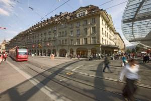 Das Loeb-Warenhaus in Bern. Bild: zvg