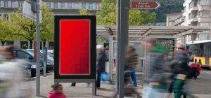 In Biel hat APG ein neues digitales City ePanel Netz realisiert. Bild: www.apg.ch