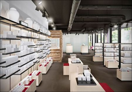 So soll es in dem ersten Flagshipstore von Zur Rose aussehen, den die Versandapotheke am Montag in Bern eröffnet. Bild: Zur Rose
