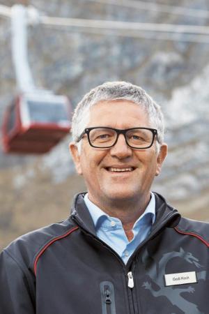 Godi Koch, CEO der Pilatus-Bahnen AG. Bild: zvg