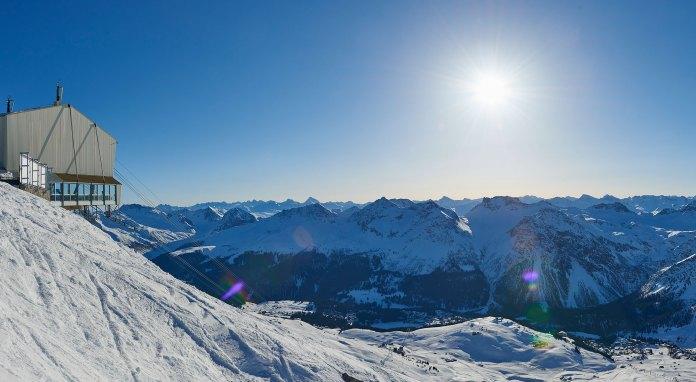 Der Betrieb am Weisshorn konnte erst im Januar 2016 aufgenommen werden. Quelle: Arosa Bergbahnen AG