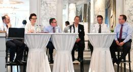 Über die Zukunft der Banken diskutierte ein hochkarätiges Panel am Branchentalk in Bern. Bild: schweizeraktien.net