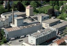 Das Brauereiareal an zentraler Lage in St. Gallen.