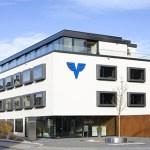 Das moderne Bankgebäude soll zukünftig von der Alpha Rheintal Bank genutzt werden.