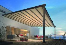 Storen und Terrassenabdeckungen werden von Griesser produziert.