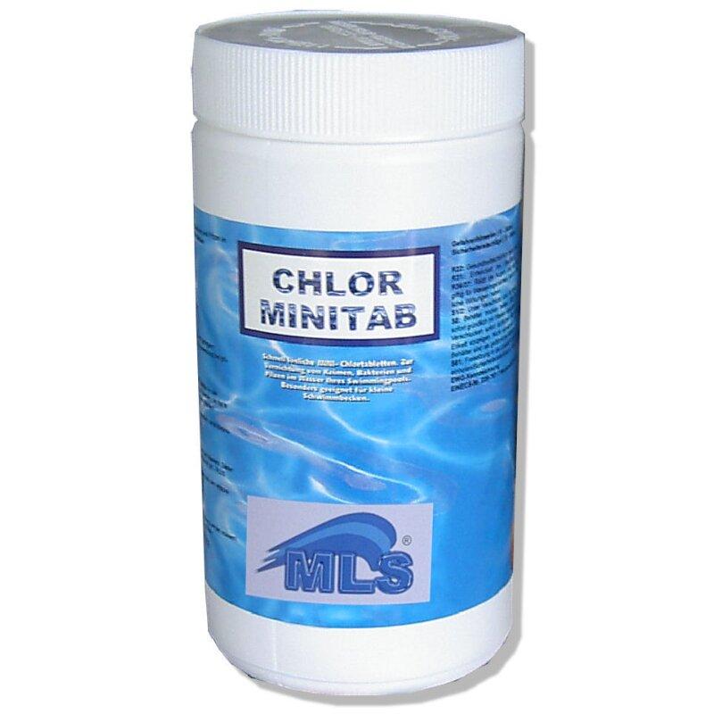 Chlor MINITABS 20 g / 1 kg, 8,50