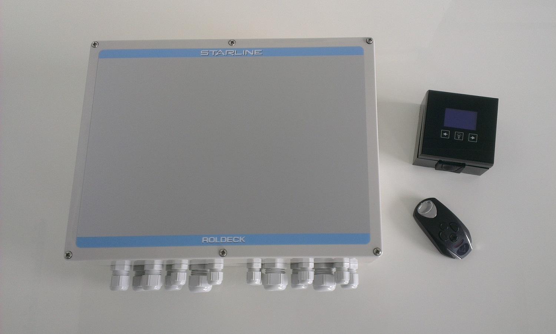 Schwimmbadabdeckung Poolabdeckung Automatisch Elektrisch