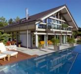 Wellness zu Hause: mit Schwimmbad, Whirlpool und Sauna