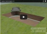 """Video: Capena """"Bau eines Swimmingpools""""   Schwimmbad-zu ..."""