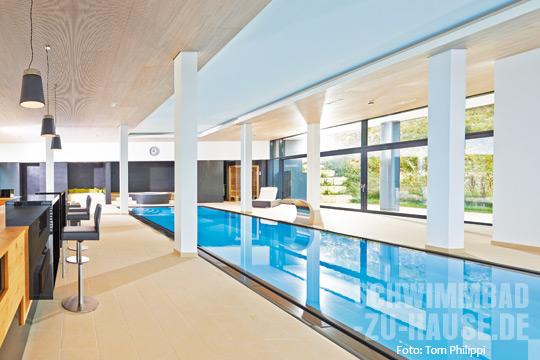 Wohnzimmer am Pool