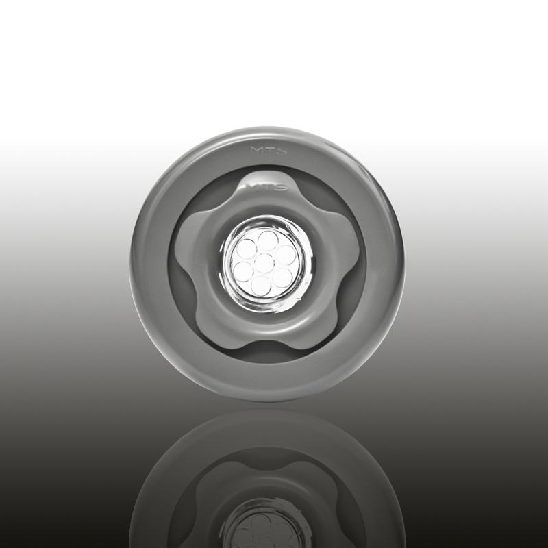 UNI SET Komplettset für vorgefertigte Becken mit Folienauskleidung ABS Edelgrau Image