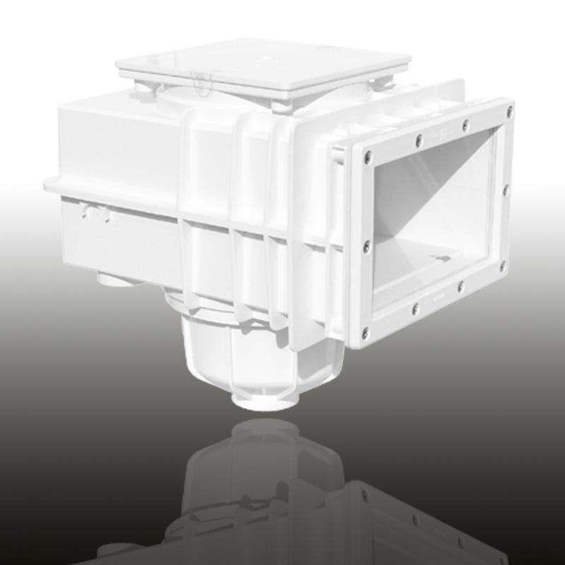 V20 Skimmer für Folien- und vorgefertigte Becken Signalweiß Image