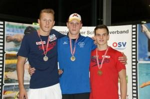 1. Int. Österreichischen Kurzbahnmeisterschaften 25m