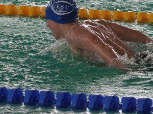 Große Medaillen Ausbeute für alle und Burgenland Rekord für Alexander Szekelx über 100m Freistil