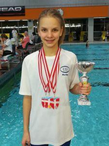 Martha Felkel Gesamtsiegerin Wiener Cup Schüler 3 weiblich 2018!