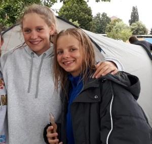 6 neue Landesrekorde für Anastasia Barcal und Martha Felkel in Györ/Ungarn!