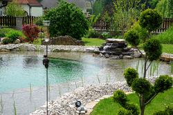 Mit Liebe zum Detail ein Schwimmteich in Niedersterreich
