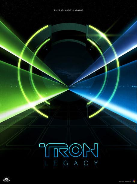 James White - Tron Legacy Poster