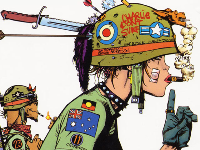 Image result for jamie hewlett tank girl