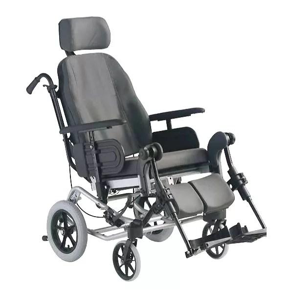 Silla de ruedas Clematis postural y de aluminio Ms cmodo