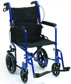 Silla de ruedas aluminio Travelite Plus