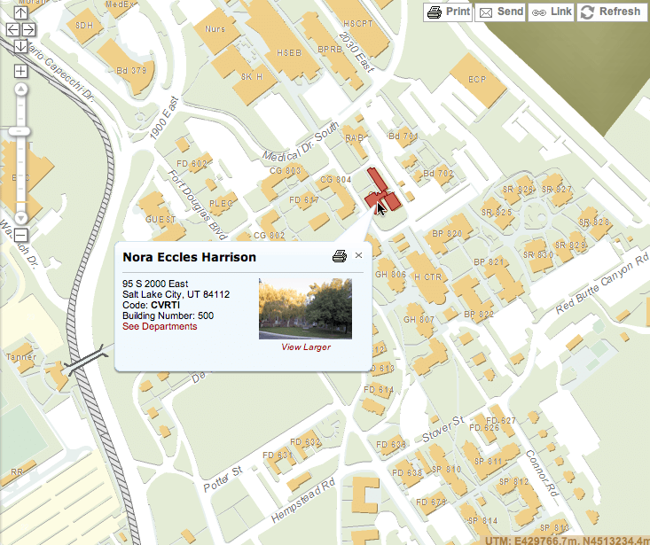 George Washington University Campus Map. George Washington ...