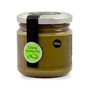 crema di pistacchio 100% senza zucchero Sciara Bronte