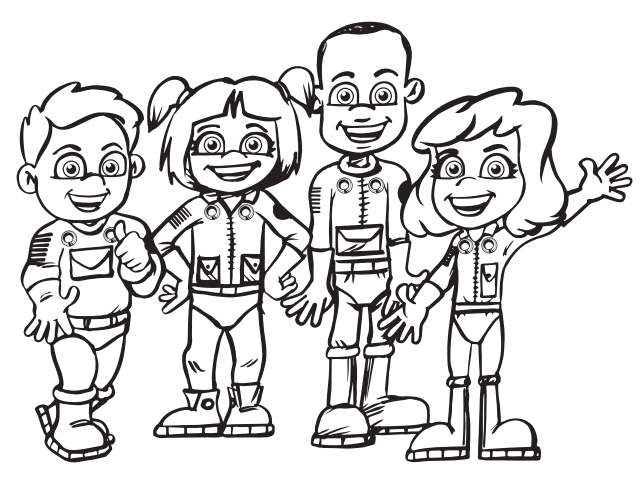 NASA Commercial Crew Children's Artwork Calendar Contest