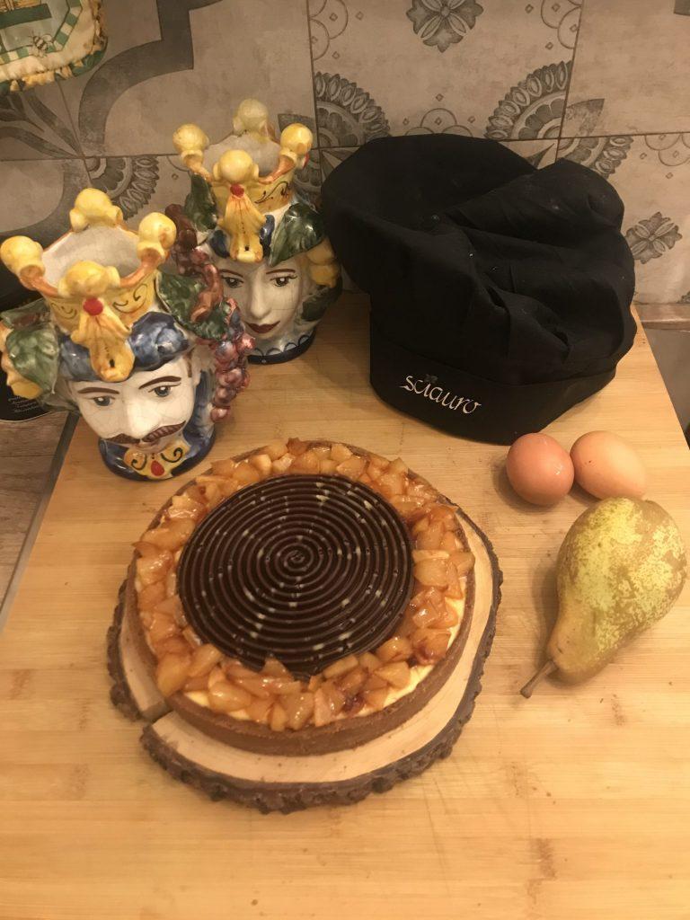 Crostata Pere e cioccolato principale2