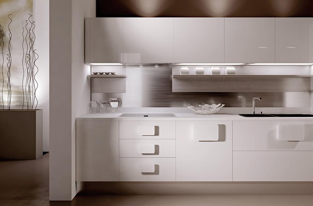 Foto Cucine Moderne Bianche FT82  Regardsdefemmes