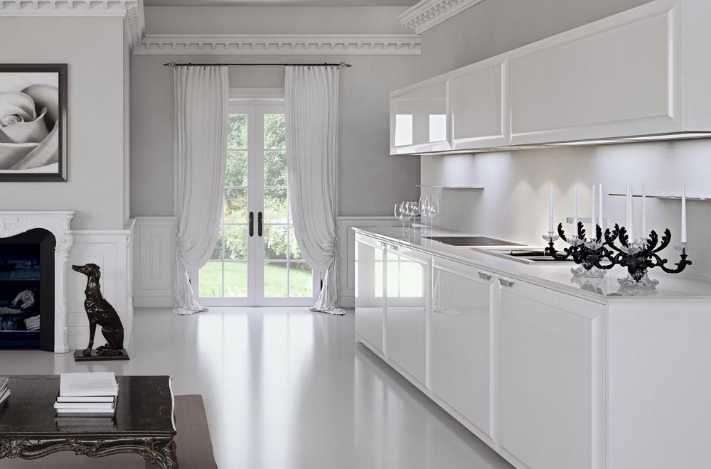 Cucine Classiche Bianche Legno - Idee per la decorazione di interni ...