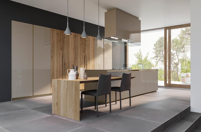 Cucina Sistema Mediterraneum  Collezione Design  SCIC Italia