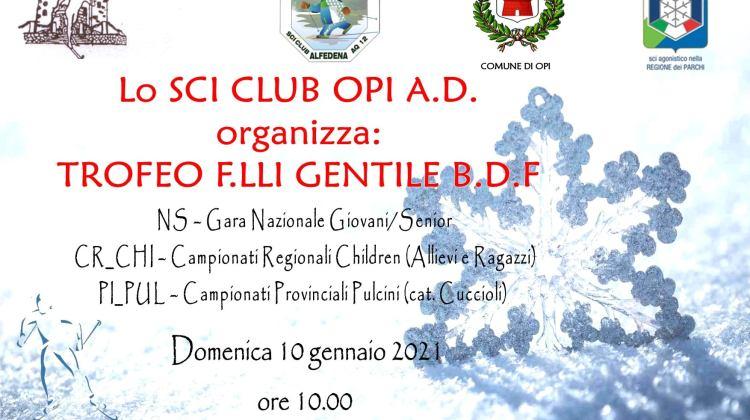 37° Trofeo F.lli Gentile – 10.01.2021