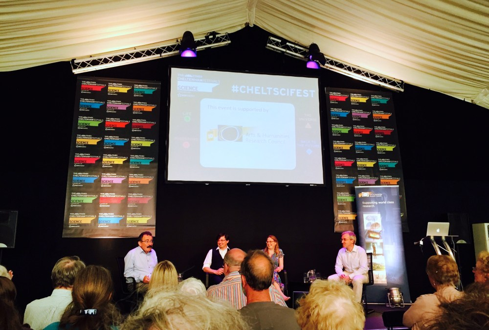 AHRC at the Cheltenham Science Festival