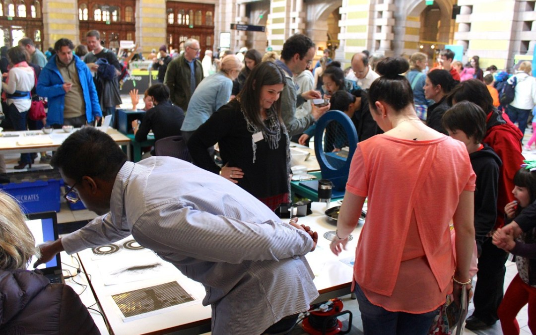 Engaging the Senses at the Glasgow Science Festival