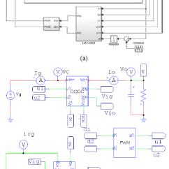 Circuit Diagram Of Buck Boost Converter 2002 Chevy Trailblazer Bose Radio Wiring Lmi Control Design A Non Inverting Figure 2 And Its Respective Current Block Diagrams Simulink Model B