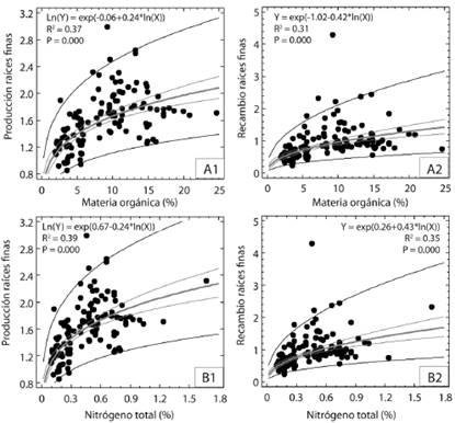 Fine root dynamics and its relationship with soil