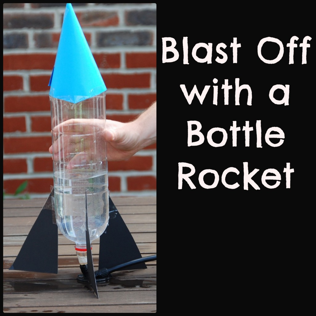 Teaching Kids How To Build A Bottel Rocket