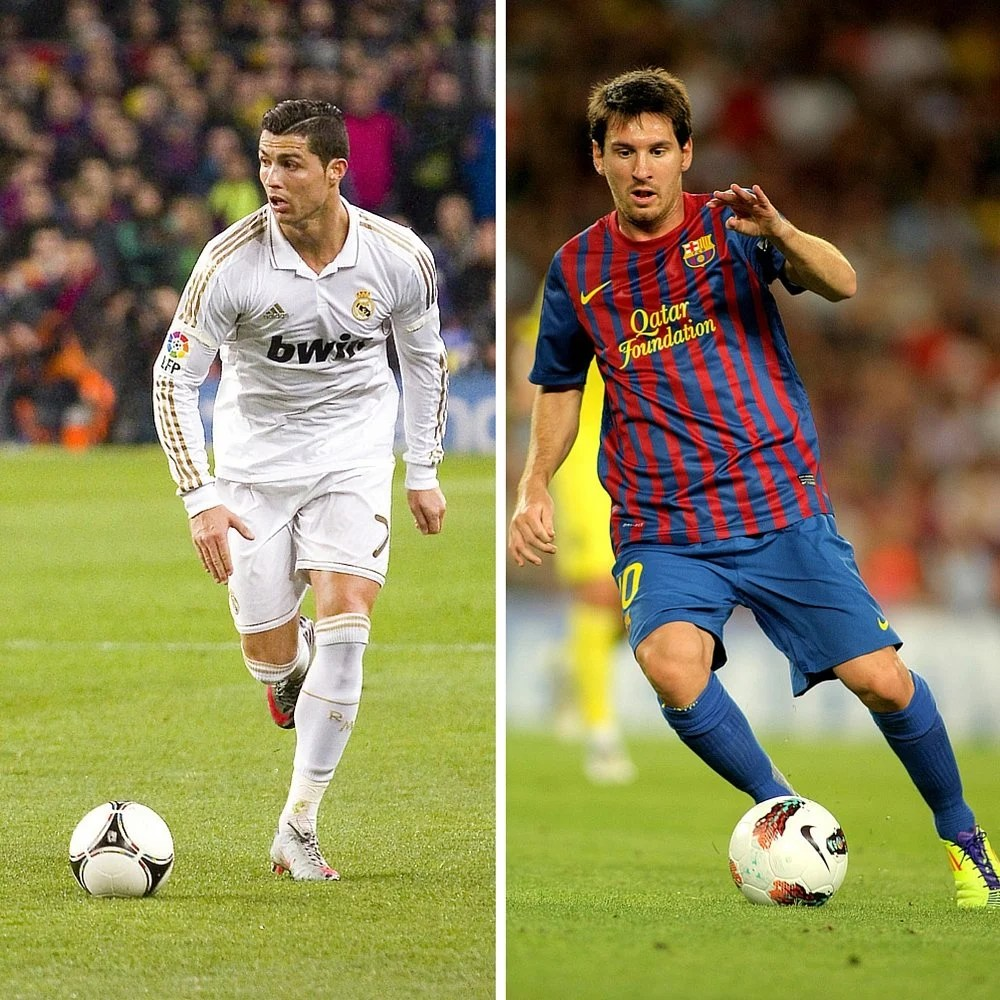 messi vs ronaldo who