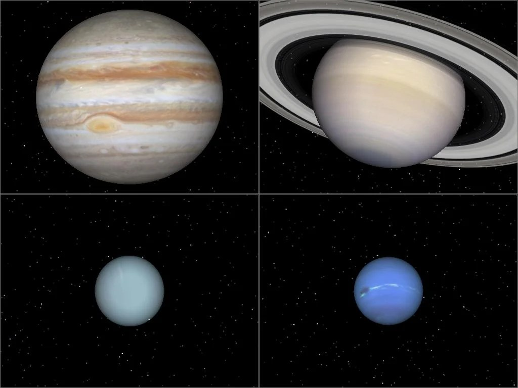 What Are Gas Giant And Ice Giant Planets And Why Are