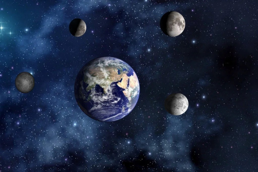 What If Earth Had More Than One Moon  Science ABC