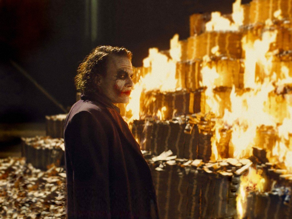 Dark Knight Joker Quotes Wallpaper Hd Why Can T We Just Print More Money To Solve Our Financial