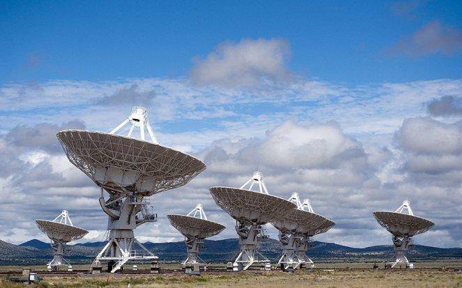 Very Large Array - Novo México, EUA - 2009-08 Interferometria